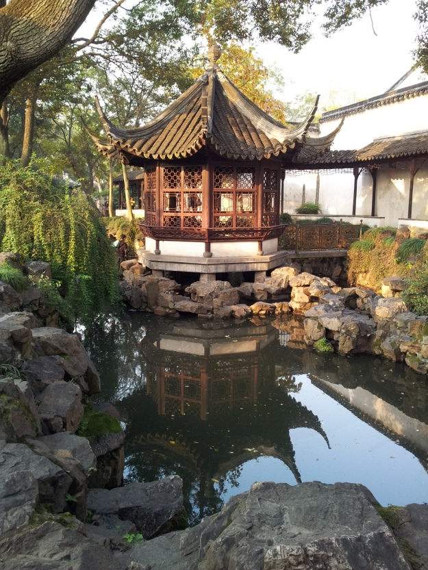 One of the sights within the Humble Administrator's garden in Suzhou
