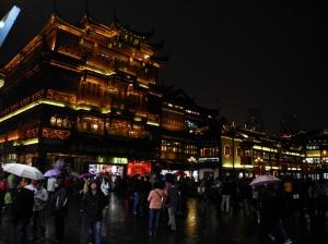 Night-time in 'Disney' China