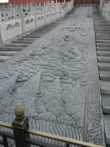 Items in the Palaces and the amazing stone carving up some steps