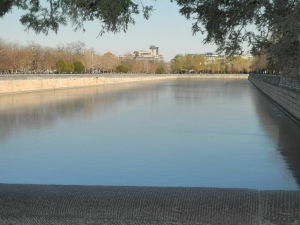 The Moat round the Forbidden City: Ice as far as the eye can see