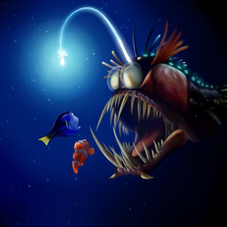 angler fish | the bouncing tigger reads, Reel Combo