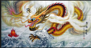 dragon painting
