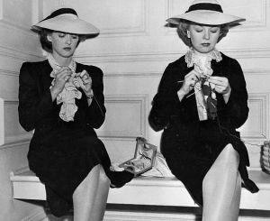 knitting women - Mind Matters and Knitting and Hats